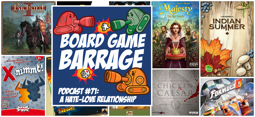 Bgb Podcast 71 A Hate Love Relationship Board Game Barrage